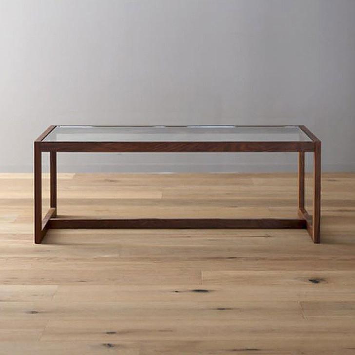 Cube Coffee table - Walnut