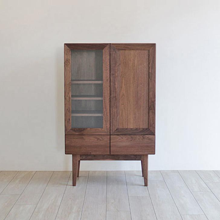Cresson Work Cabinet-Walnut