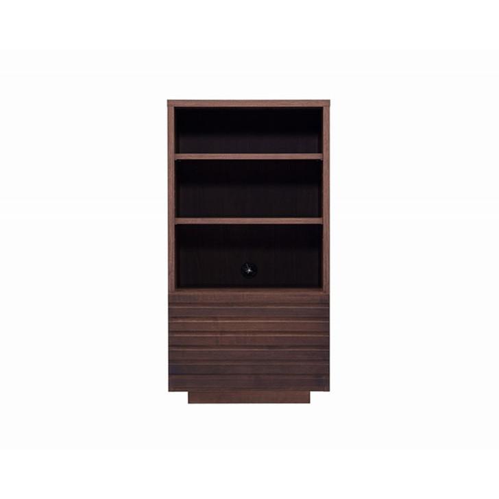 Hotta Slit Open Cabinet-Walnut