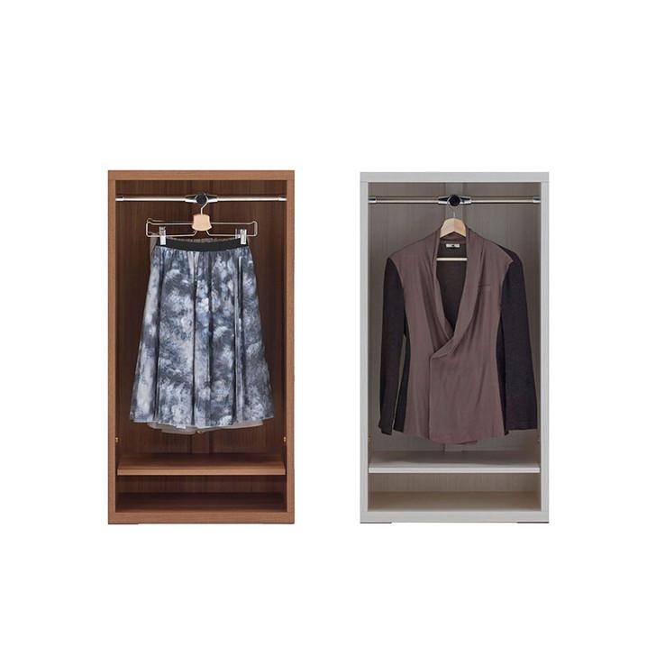 Funamoco Living Shelf Clothes Hanger Open Rack