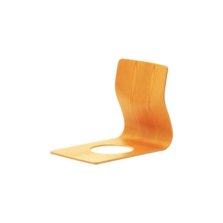 S-5046KY-NT Floor chair (Keyaki)