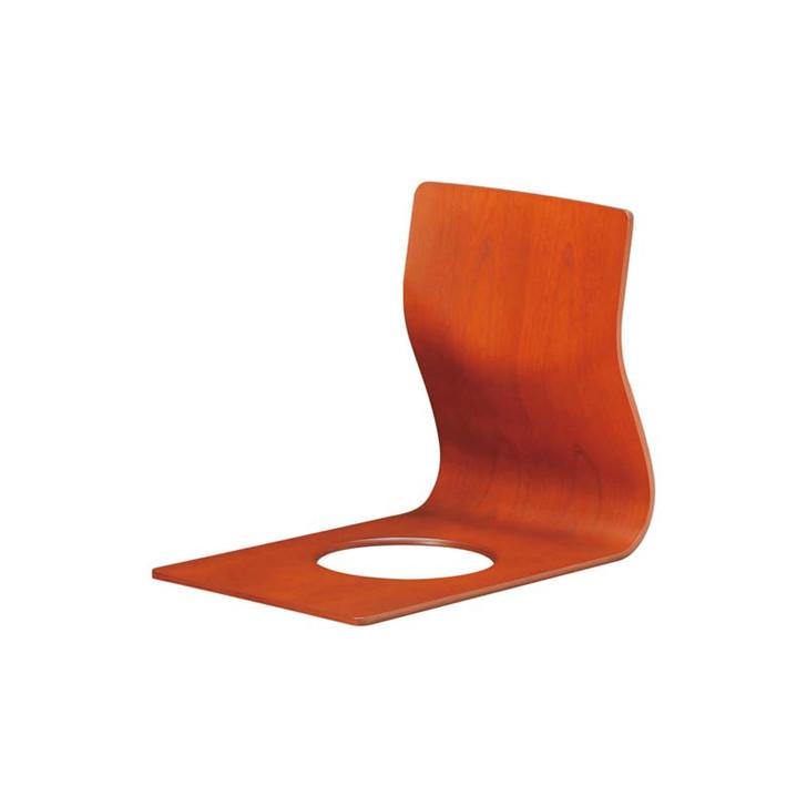 S-5046KY-KB Floor chair (Keyaki)