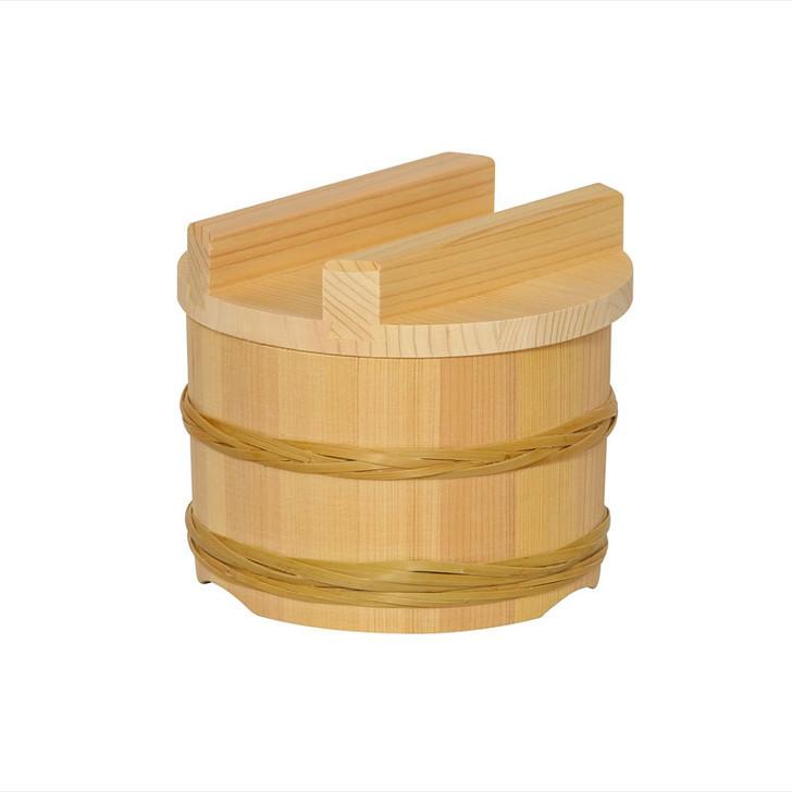 Mini Ohitsu Rice Container (Bamboo Hoop)