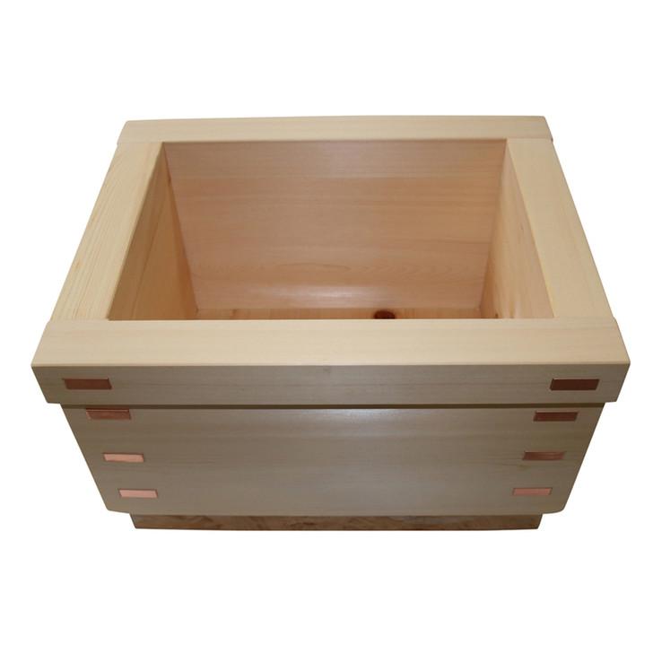 Sawara Foot Bath Tub - Box Type