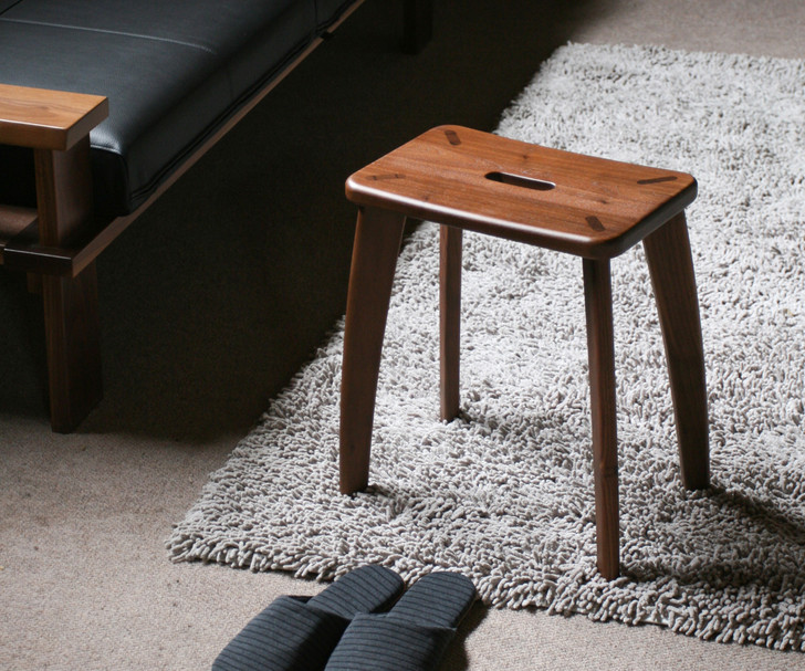 MOBEL Kaku Stool Walnut