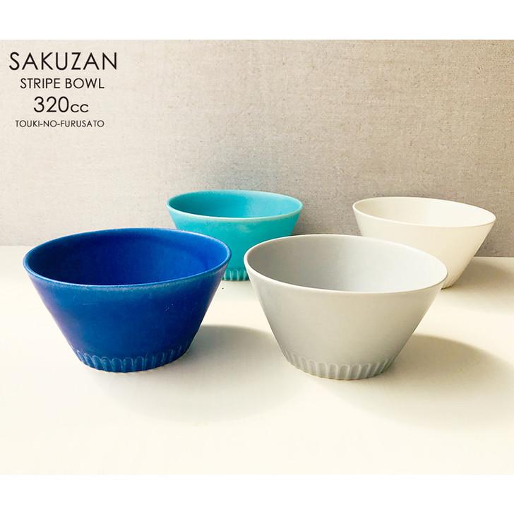 SAKUZAN Stripe Bowl