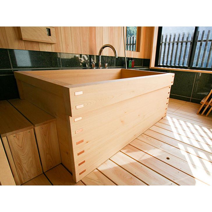 SHIMIZU Wooden Bath - Box Type