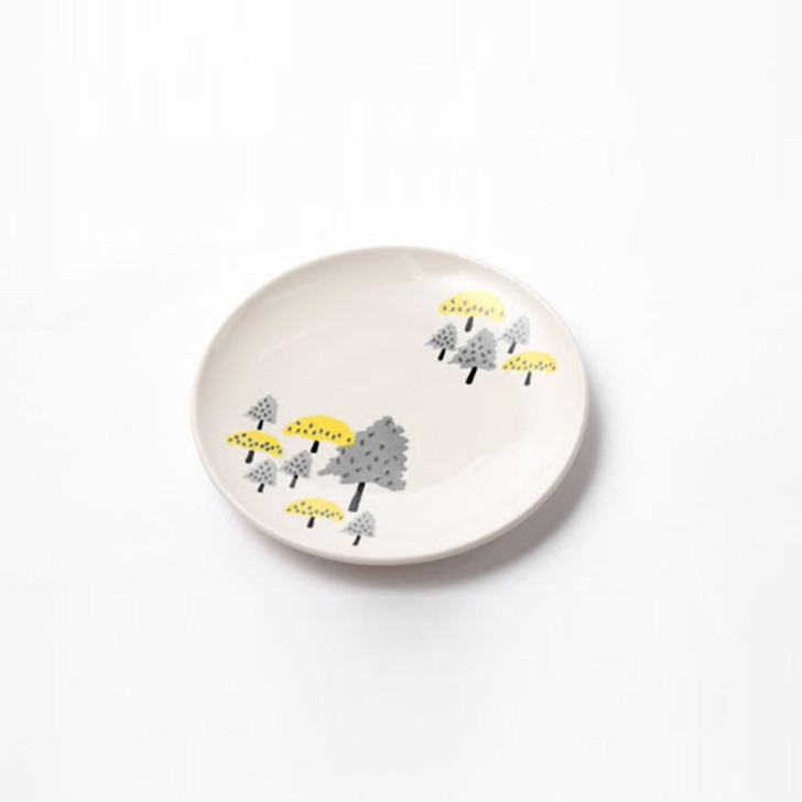 Clement Hand Painted Dessert Plate