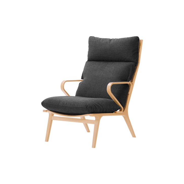T-3234WB-NT Easy Chair (Leather)