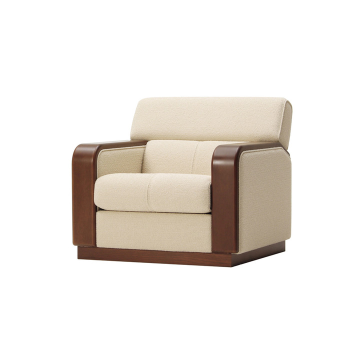 T-5337NA-BW 1P Sofa (Leather)