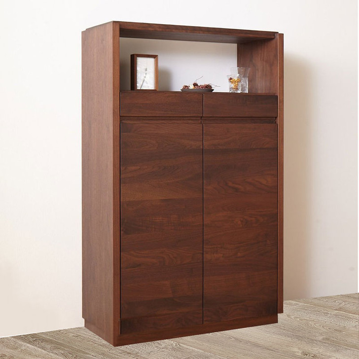 Puro Low Cabinet - Walnut