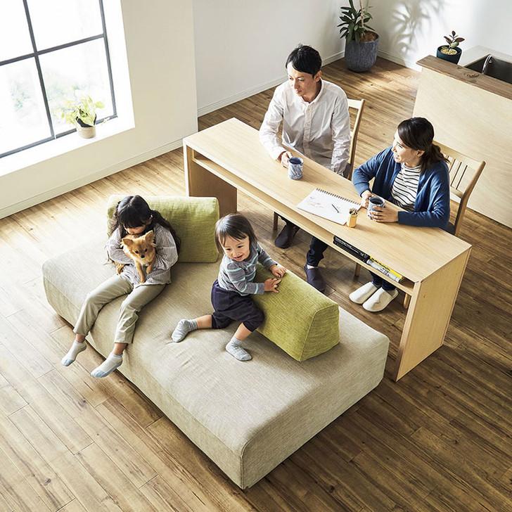 Combination of Meuble Island Sofa + Desk