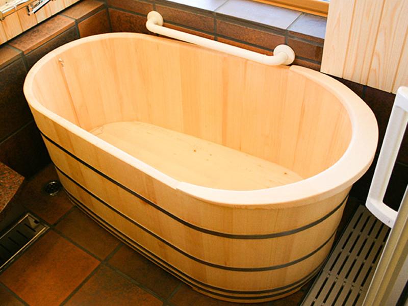 Japanese Modern Type Wooden Bath / Hinoki Bath