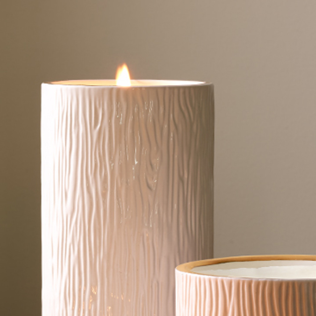 Frasier Fir Ceramic Candle, Pillar