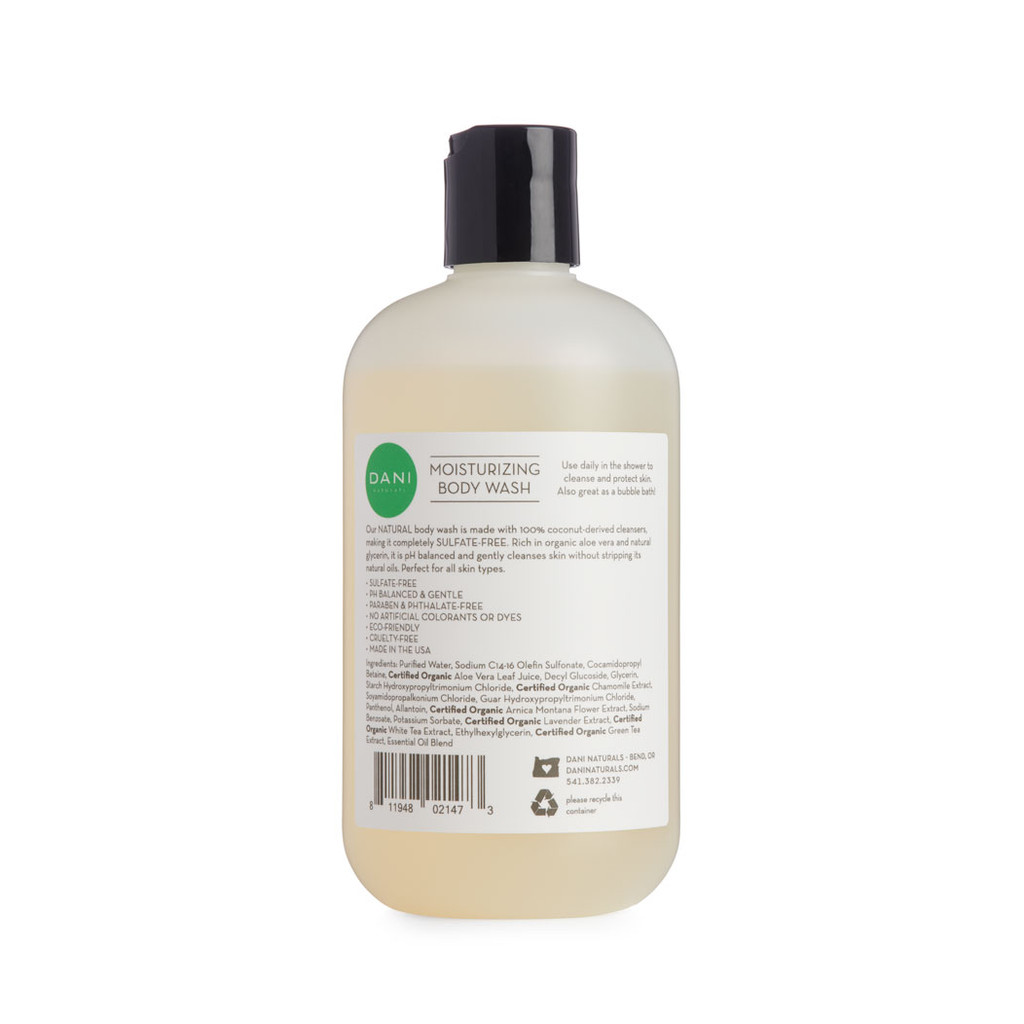 Bamboo Bergamot Body Wash by Dani Naturals