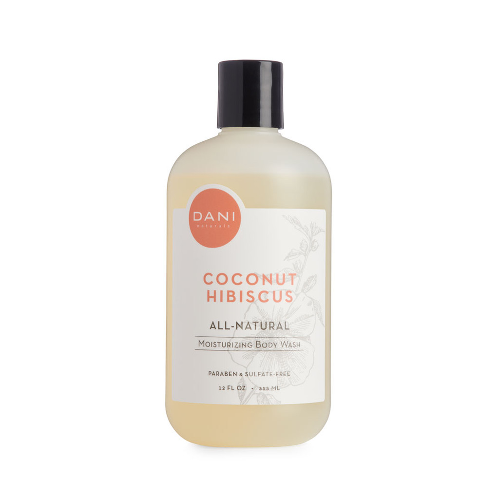 Coconut Hibiscus Body Wash by Dani Naturals