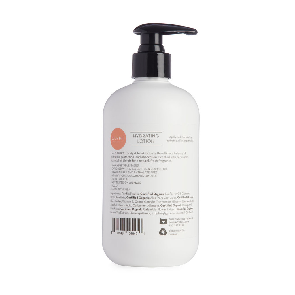 Coconut Hibiscus Hydrating Body Lotion by Dani Naturals