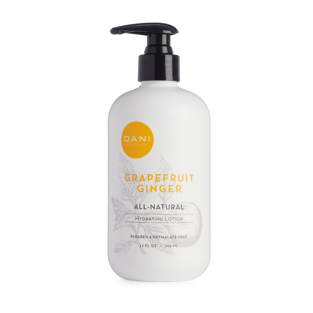 Grapefruit Ginger Hydrating Lotion by Dani Naturals