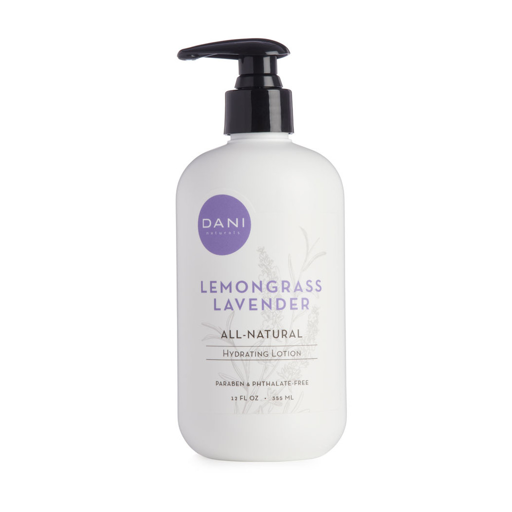 Lemongrass Lavender Hydrating Lotion by Dani Naturals
