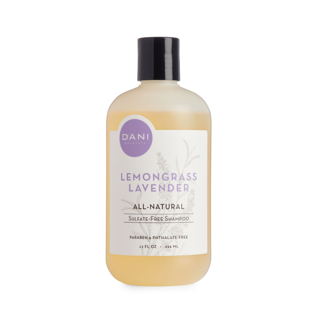 Lavender Lemongrass Sulfate Free Shampoo by DANI Naturals