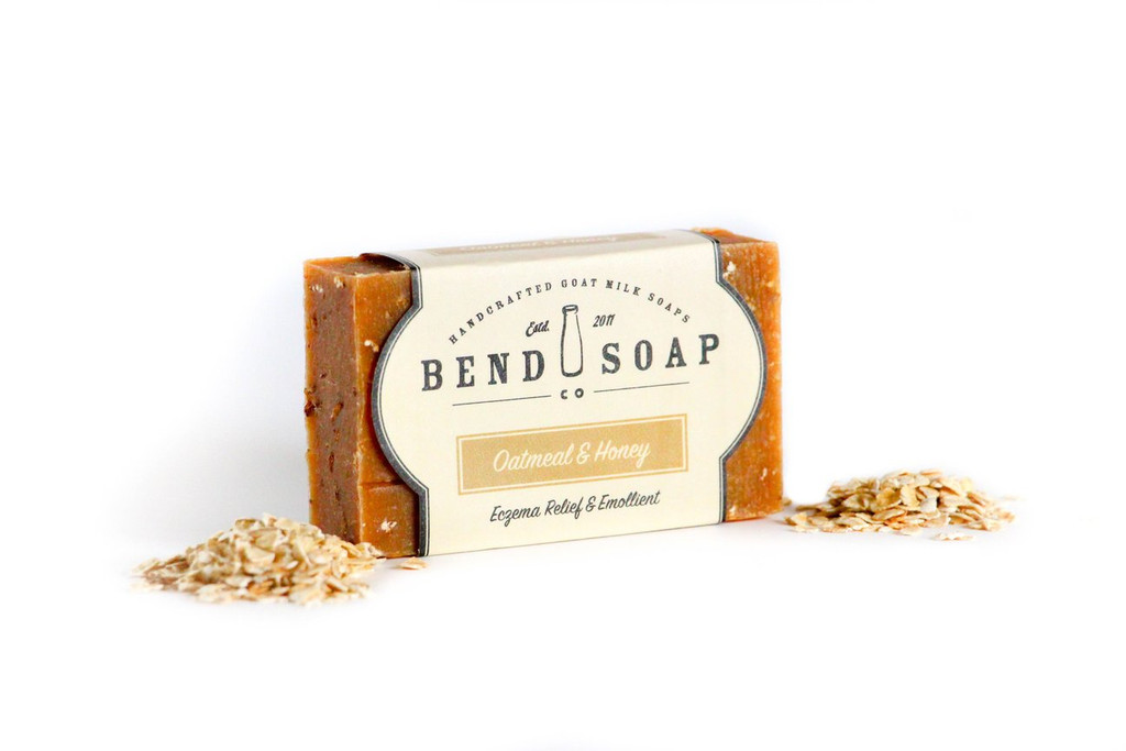 Oatmeal and Honey Goat Milk Soap by Bend Soap Company