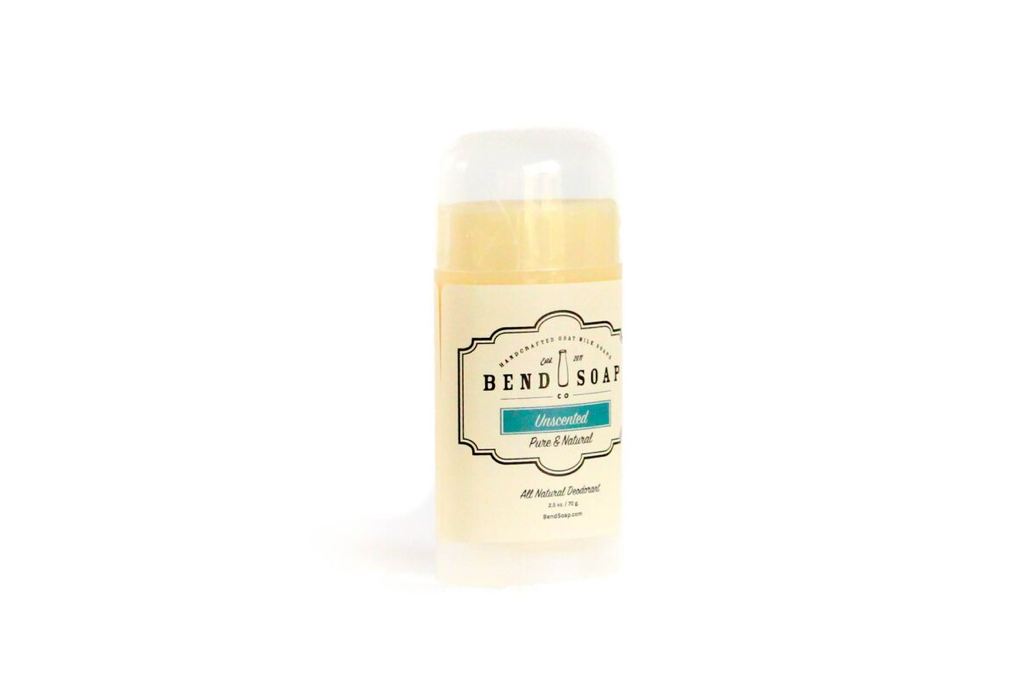 Unscented Natural Deodorant by Bend Soap Co.