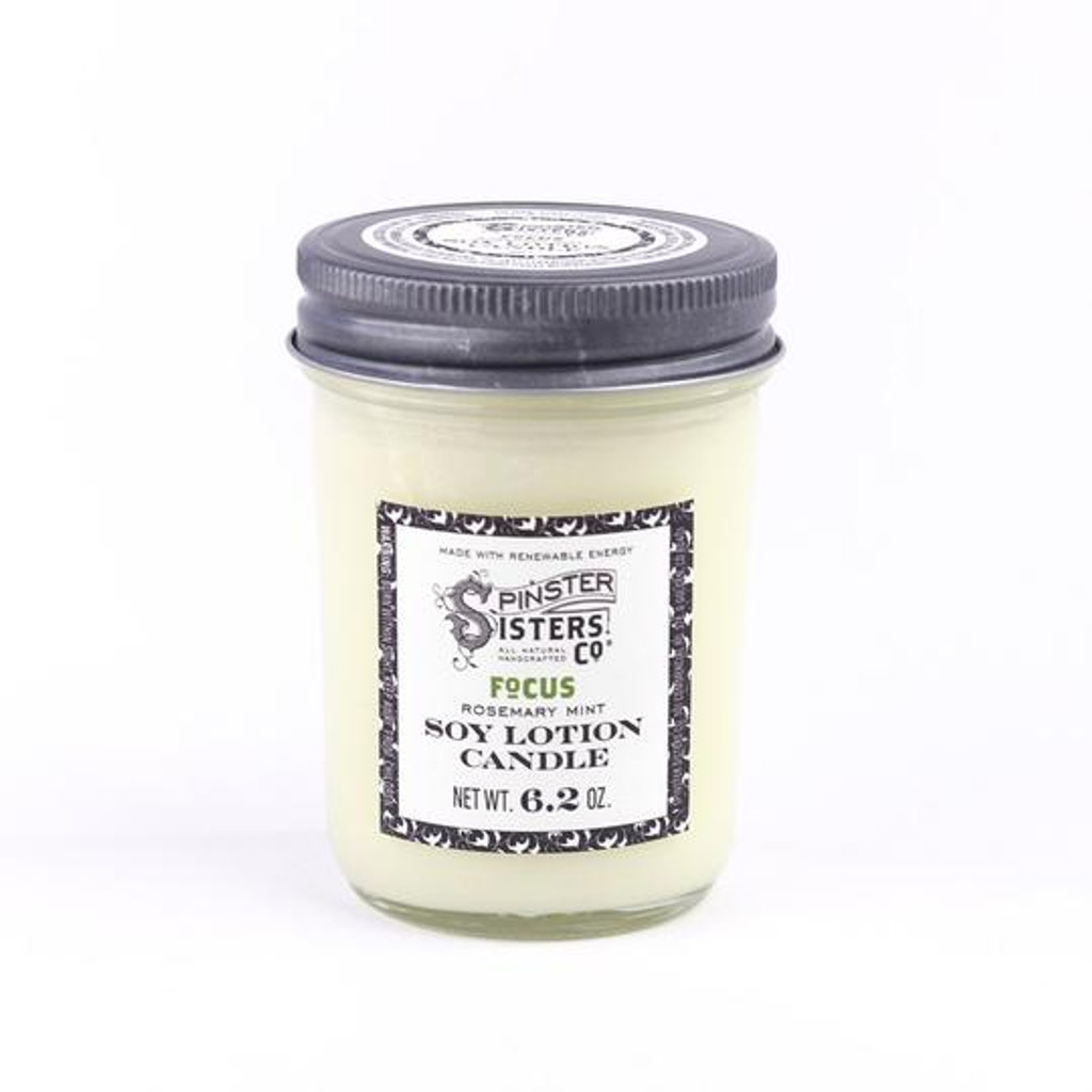 Soy Lotion Candle - Focus