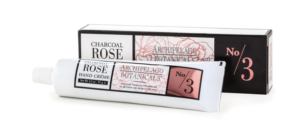 Archipelago Charcoal Rose Hand Cream