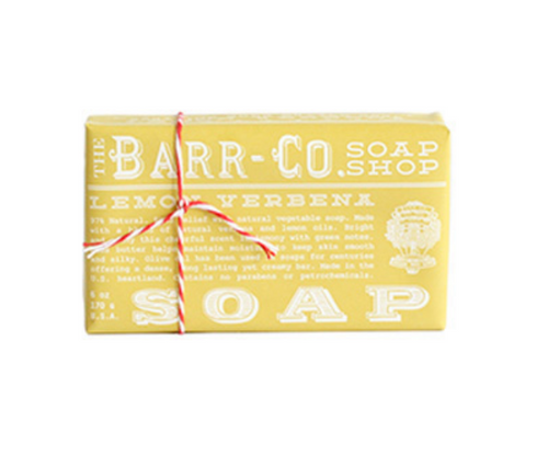 Barr-Co Bar Soap - Lemon Verbena