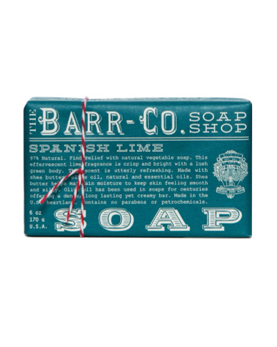 Barr-Co Bar Soap Spanish Lime