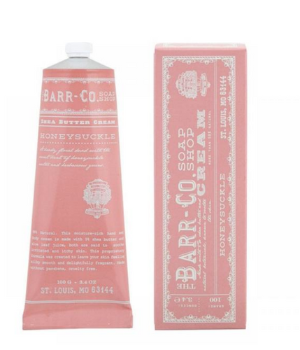 Honeysuckle Hand Cream Barr-Co