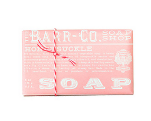 Barr-Co Bar Soap Honeysuckle