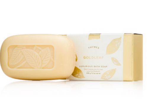Thymes Bar Soap - GoldLeaf