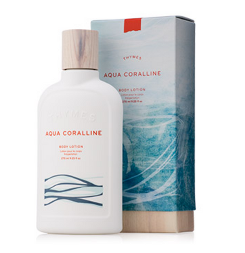 Thymes Body Lotion - Aqua Coralline