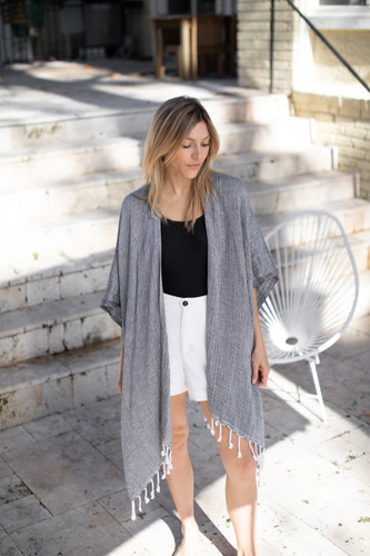 The Beach Wrap - Mer-Sea & Co. - Black