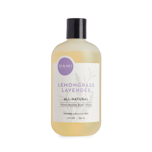 Lemongrass Lavender Body Wash by Dani Naturals