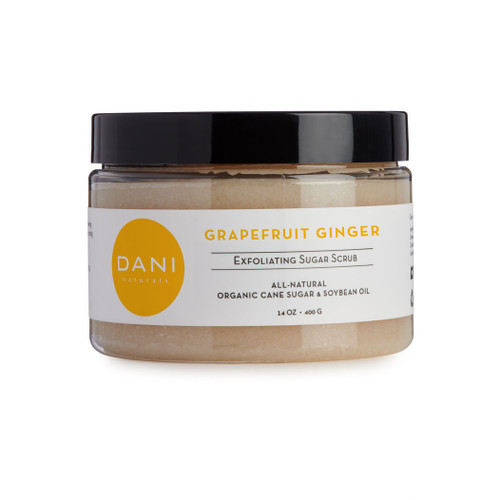 Grapefruit Ginger Body Scrub by Dani Naturals