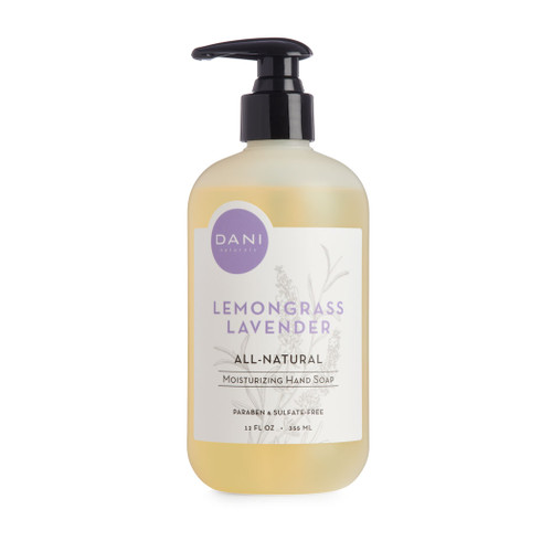 Lemongrass Lavender Hand Wash by DANI Naturals