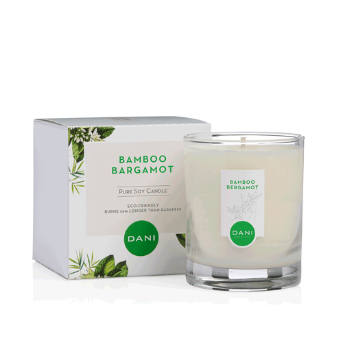 Bamboo Bergamot Soy Candle by DANI Naturals
