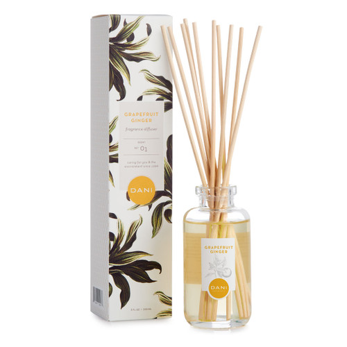 Grapefruit Ginger Reed Diffuser by DANI Naturals
