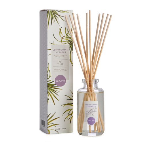 Lemongrass Lavender Reed Diffuser by DANI Naturals