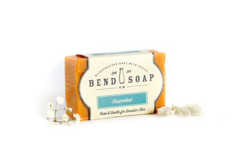 Unscented Goat Milk Soap by Bend Soap Company