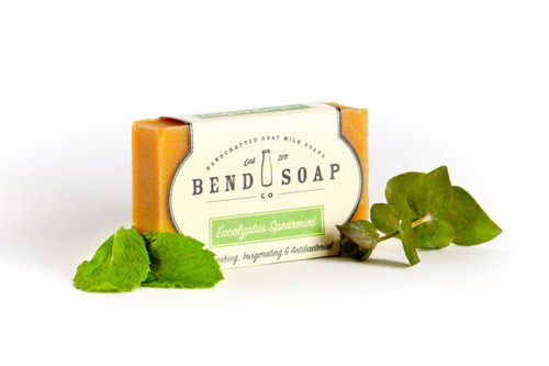 Eucalyptus Spearmint Goat Milk Soap by Bend Soap Company