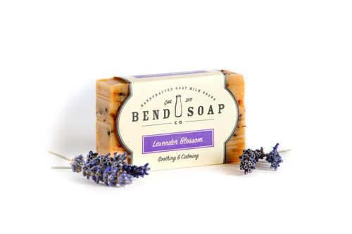 Lavender Blossom Goat Milk Soap by Bend Soap Company