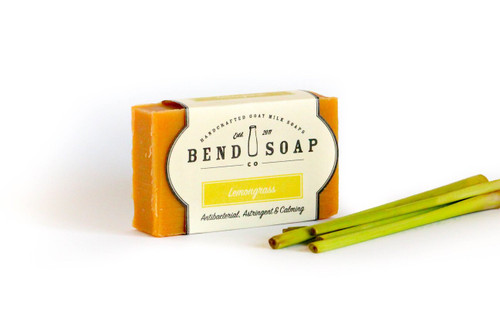 Lemongrass Goat Milk Soap by Bend Soap Company