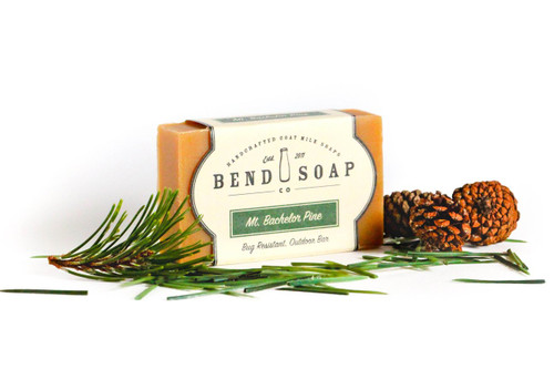 Mount Bachelor Pine Goat Milk Soap by Bend Soap Company