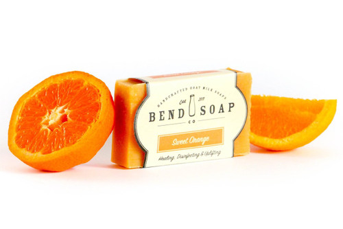 Sweet Orange Goat Milk Soap by Bend Soap Company