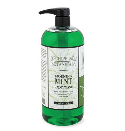 Archipelago Morning Mint Body Wash