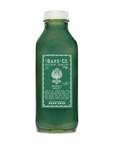 Honey Mint Bath Soak Barr-Co.