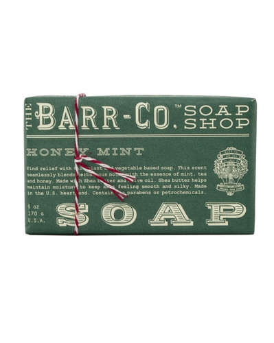 Honey Mint Triple Milled Bar Soap - Barr-Co.